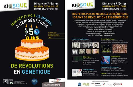 Kiosque-actus CNRS/Muséum du 07/02/16 - 150 ans de révolutions en génétique | Actualité des laboratoires du CNRS en Midi-Pyrénées | Scoop.it