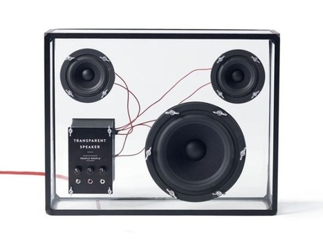 Faveoly Crowdfunding Project of the Day: Transparent Speaker (by @peoplepeople) - Faveoly   Social Mercor   Scoop.it