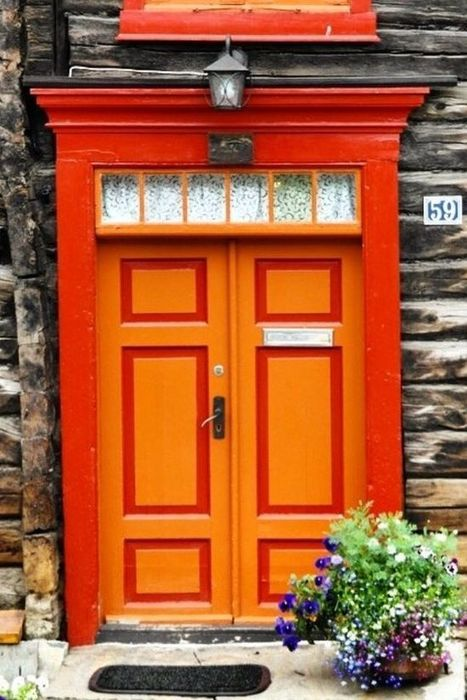 Blog - Paint Your Door a Welcoming Orange | doors | Scoop.it