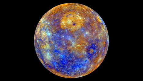 NASA's Messenger probe to Mercury shows a stunning new color map of the planet | Amazing Science | Scoop.it