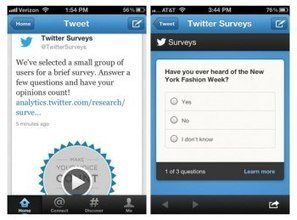 Twitter's new solution for measuring brand campaigns: in-tweet surveys #liquidnews | #liquidnews: online marketing | Scoop.it