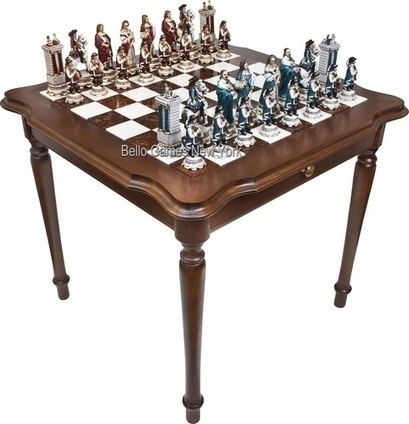 Chess & Checkers Table | Chess Boards and Pieces | Scoop.it
