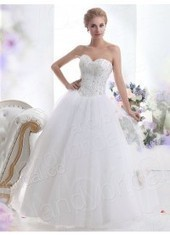 Ball Gown Sweetheart Brush Train Tulle Ivory Wedding Dress Lbldb12115 for $754 | men's fashion | Scoop.it