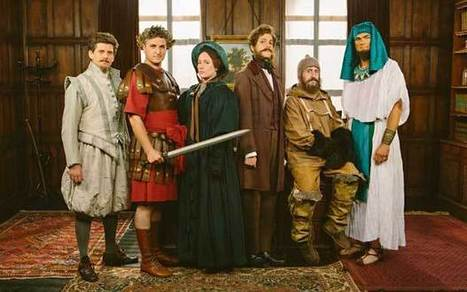 Horrible Histories: 20 years of entertaining children - Telegraph   Archaeology+history news   Scoop.it