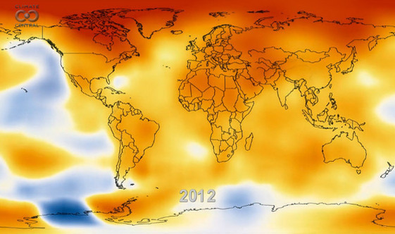 Watch 62 Years of Global Warming in 13 Seconds | Climate Central