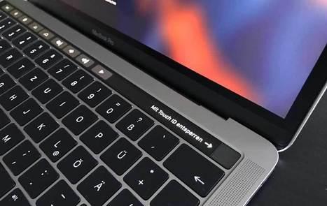 MacBook Pro 2016 mit Touch Bar: Angeschaut und draufgetippt   Mac in der Schule   Scoop.it