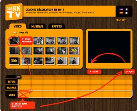 S'initier aux règles et principes du montage vidéo en ligne | | CDI Satie ressources pour les enseignants | Scoop.it