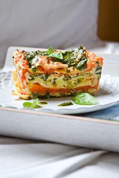 #HealthyRecipe / Lasaña Vegetariana   Vegetarian Lasagna   Vegan & Vegetarian   Scoop.it