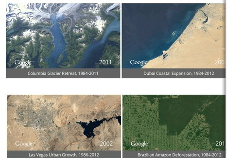 Google Blog: A picture of Earth through time | Connect All Schools | Scoop.it