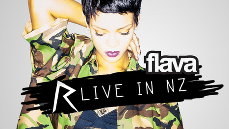 Rihanna's Diamonds World Tour - Live In NZ -  What's On - Flava Hip Hop, Hits & RnB | Trending Much | Scoop.it