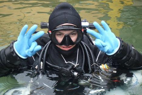Diving Ojamo Mine in Finland with the Suunto Test Dive Team | Scuba Diver Girls | Finland | Scoop.it