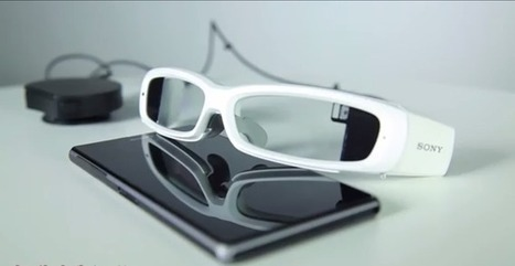 [MWC 2014] Sony's SmartEyeglass Concept May Just Be A Google Glass Competitor To Keep Your Eyes On | izim-news | Scoop.it