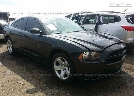 2011 Dodge Charger on online auction  | Salvage Auto Auction | Scoop.it