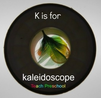 K is for kaleidoscope designs | Teach Preschool | Scoop.it
