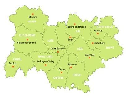 Comment Rhône-Alpes va absorber l'Auvergne   Aménagement territoire   Scoop.it