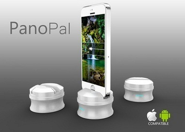 PanoPal Smartphone Stand will help you get the perfect panoramic shot | Tech Gadgetry | Scoop.it