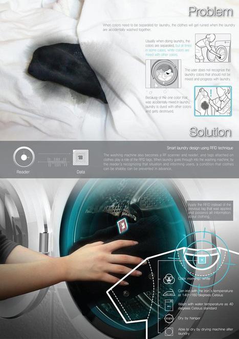 Smart Chime : une certaine vision de la machine à laver le linge communicante - Abavala !!! | Ressources pour la Technologie au College | Scoop.it