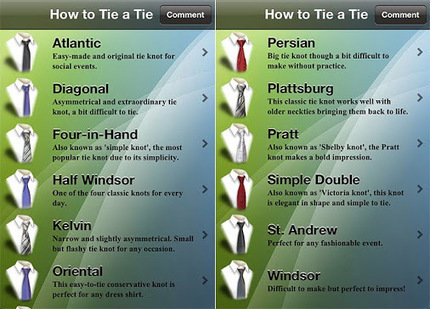 Different steps to tie a tie | Online Shopping | Scoop.it