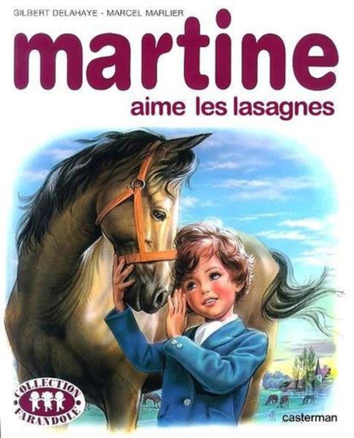 Martine aime les lasagnes | Baie d'humour | Scoop.it