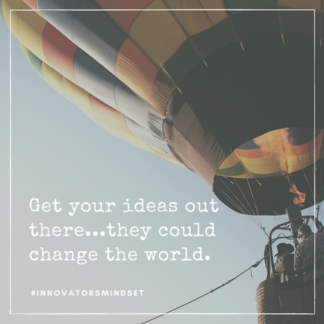 Developing Innovators and Entrepreneurs - George Couros | aect | Scoop.it