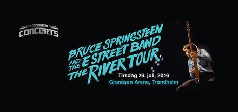 Bruce Springsteen n'a pas arrêté la pluie à Trondheim (Norvège) - le Blog Bruce Springsteen | Bruce Springsteen | Scoop.it