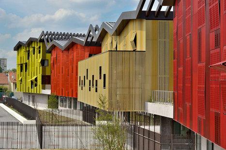 mikou studio completes high school jean lurcat near paris | Inspirational architecture to free the mind! | Scoop.it