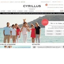 Retrouvez des offres importantes de la boutique cyrillus sur cmescoupons   bons remise   Scoop.it