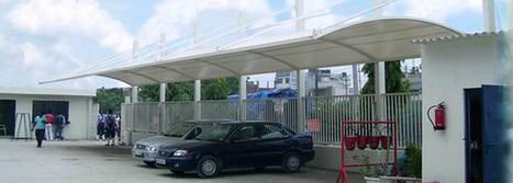 Tensile Structure | Car Parking Tensile Structure Rudrapur | Construction | Scoop.it