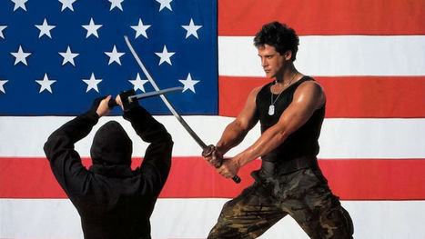 10 White People Who Inexplicably Became Ninjas | Strange days indeed... | Scoop.it