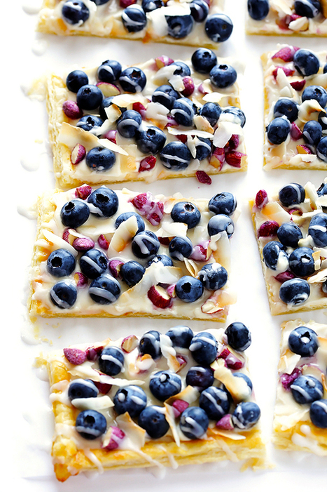 Super-Easy Blueberry Almond Tart | Gimme Some Oven | Passion for Cooking | Scoop.it