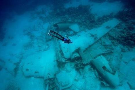 Twitter / MilitaryPorn: Underwater wreckage of a C-47 ...   ScubaObsessed   Scoop.it