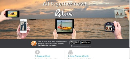 Relive - All Together Now! | IKT och iPad i undervisningen | Scoop.it