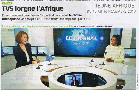 TV5 lorgne l'Afrique | DocPresseESJ | Scoop.it