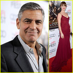 George Clooney & Juliette Lewis: 'August' Hollywood Premiere - Just Jared | CLOVER ENTERPRISES ''THE ENTERTAINMENT OF CHOICE'' | Scoop.it