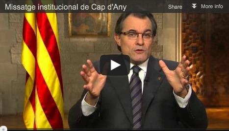 Missatge Institucional de Cap d'Any del President Artur Mas 30.12.12 | AC Affairs | Scoop.it