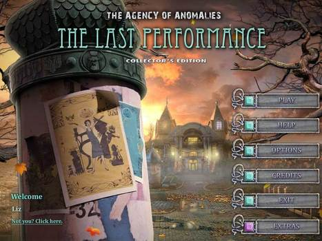 The Agency of Anomalies: The Last Performance Walkthrough | CasualGameGuides.com | Casual Game Walkthroughs | Scoop.it