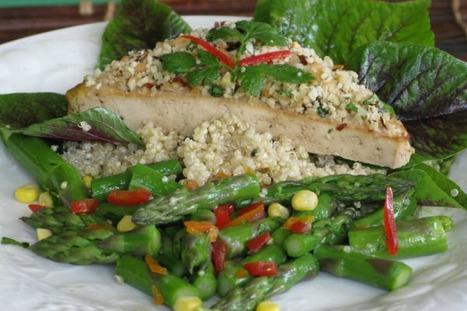 Macadamia Crusted Tofu [Vegan, Gluten-Free] | My Vegan recipes | Scoop.it