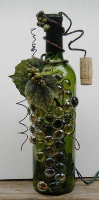 32 Insanely Beautiful Upcycling Projects For Your Home -Recycled Glass Bottle Projects | Upcycled Objects | Scoop.it