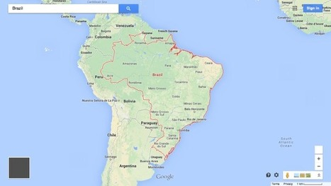 Here are the 32 countries Google Maps won't draw borders around | Mrs. Watson's Class | Scoop.it