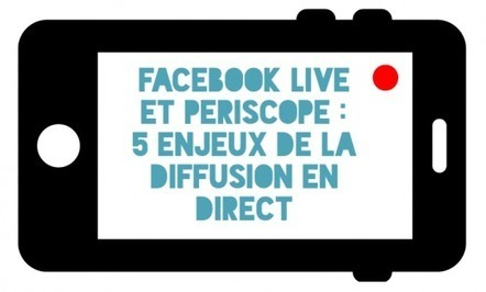 #Facebook Live et #Periscope : 5 enjeux de la diffusion en direct #sreamingVideo #EMI | Usages responsables d'Internet | Scoop.it