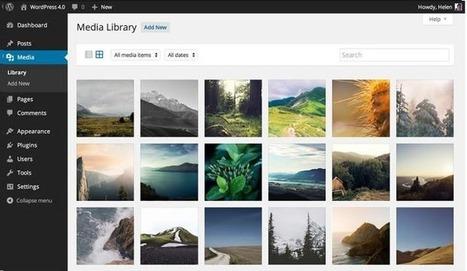 WordPress 4.0 : une utilisation plus agréable | Culture Web | Scoop.it