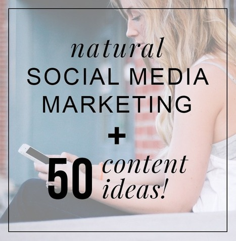 Why promoting your blog or business in a natural way will help you grow, plus some ideas to help you get started | Digital Maketing | Scoop.it