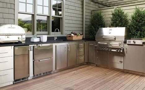 Planning Guide: Outdoor Kitchens - BobVila.com | More Custom Designed Kitchens that will surely Struck You | Scoop.it
