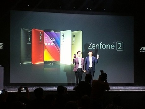 Asus annonce son Zenfone 2 en France à partir de 179 euros | Mon mobile et moi | Scoop.it