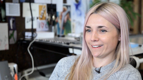 Designer Jo Ratcliffe: 'animating Kate Moss was my crash course' - video | Matmi Staff finds... | Scoop.it