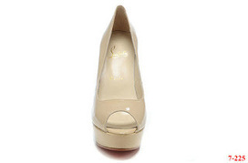 Discount Christian Louboutin Mirror Leather Peep Toe Platfrom | sexy Christian Louboutin shoes | Scoop.it