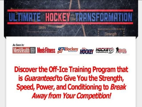 Ultimate Hockey Transformation | Core Exercises | Scoop.it