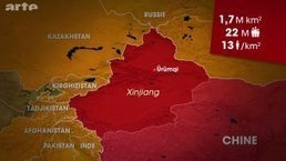 Le dessous des cartes - XINJIANG : LE GRAND OUEST CHINOIS | Géopolitique & Cartographie | Scoop.it