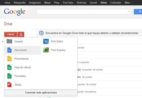 Como compartir documentos con Google Drive | Recursos para la Diversidad educativa | Scoop.it