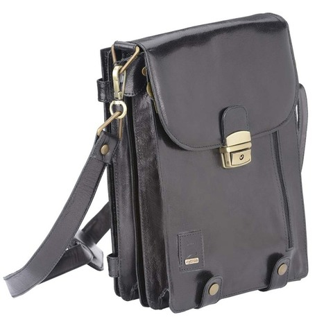 Buy Black Leather Ipad Bag Online India | Buy leather laptop bag and leather belt online india | Scoop.it